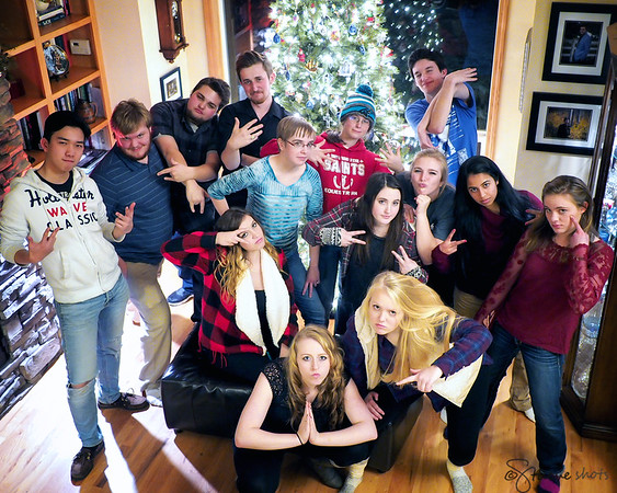 First Annual Christmas Party: Class of 2015