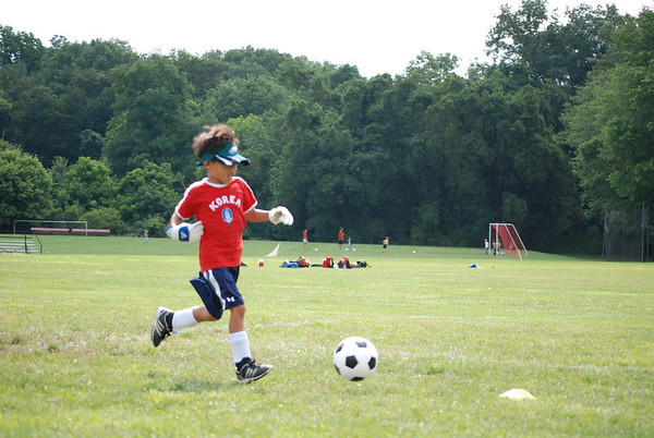 Boys Soccer Camp