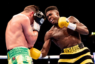 Commonwealth and WBO International Super Middleweight Title - Lerrone Richards vs Tommy Langford 27th April 2019