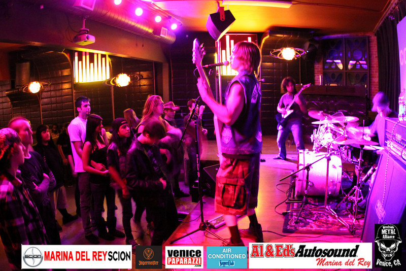 For booking and information. Westside Metal Alliance.  http://www.westsidemetalalliance.com Air Conditioned Supper Club. 625 Lincoln Blvd. Venice, Ca 90291 http://www.airconditionedbar.com.  Photo by Venice Paparazzi.  www.venicepaparazzi.com