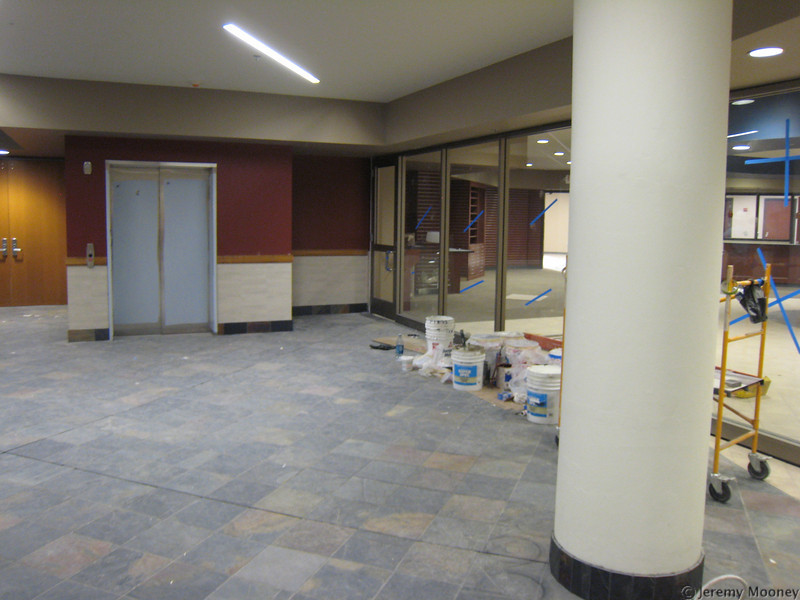 2nd floor lobby - bookstore on right.
