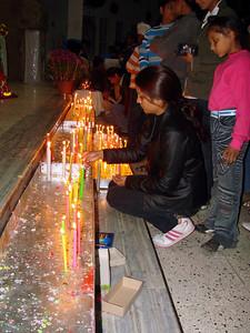 Xmas Candle Lights - 2007 - Catholic Church