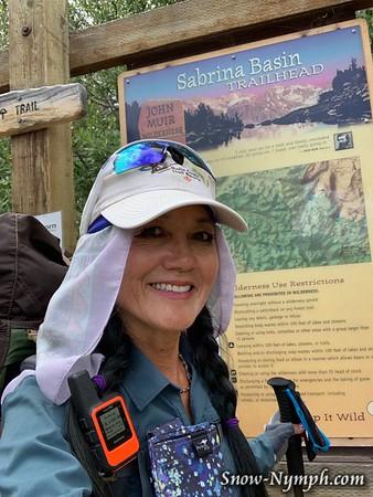 2019-08 (07-09)  Solo backpack - Lake Sabrina to Blue Lk and side trip to Dingleberry Lk