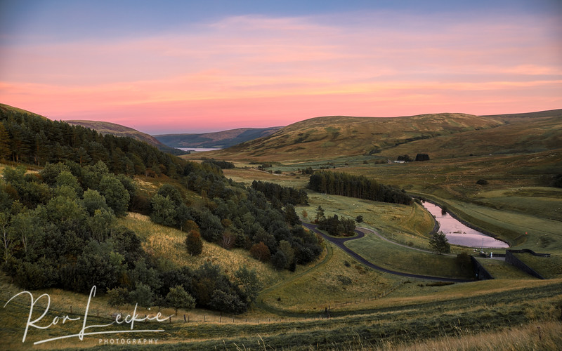 Scottish Borders - sunset