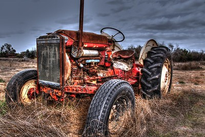 Tractors And Old Cars