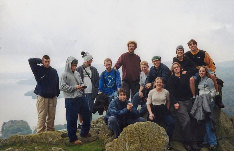Hiking crew - Including Rami Malek