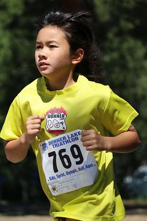Donner Lake Tri Kids Run