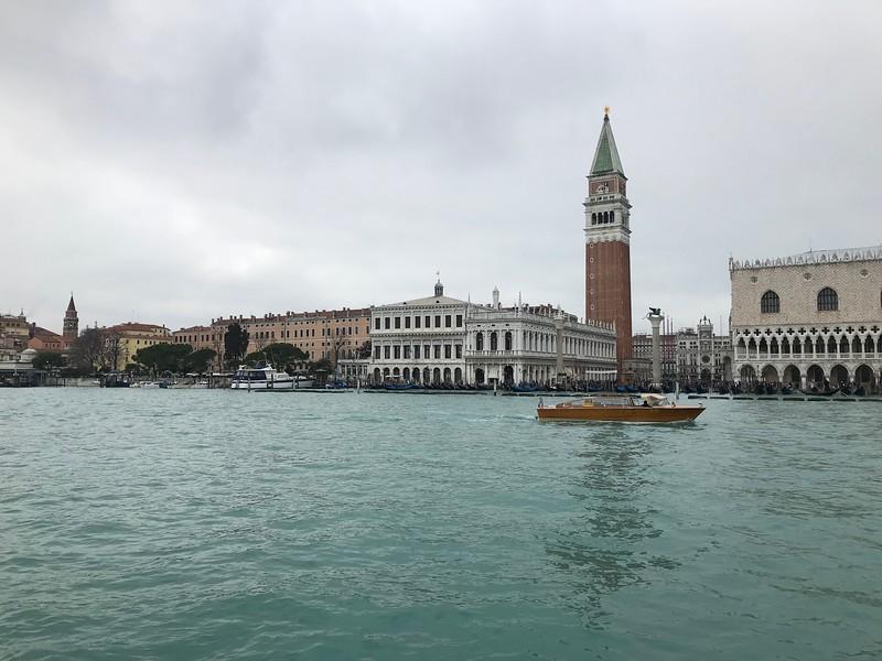 Towards Piazza San Marco, Venice.