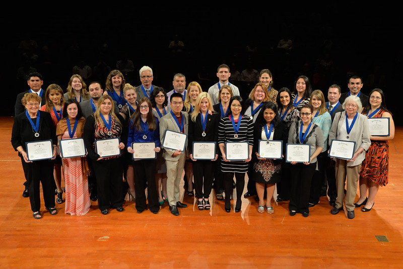 Phi Kappa Phi held their induction ceremony at the PAC.