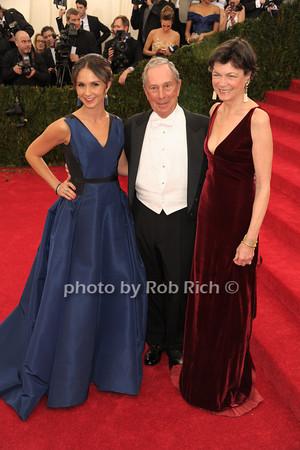 Georgina Bloomberg, Mayor Michael Bloomberg, and Diana Taylor photo by Rob Rich © 2014 robwayne1@aol.com 516-676-3939
