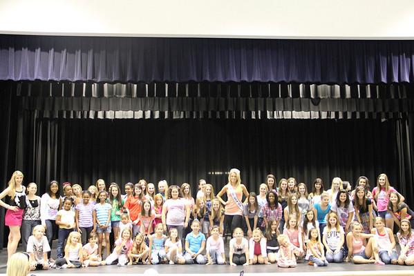 Miss Suwanee 2011 Rehearsal