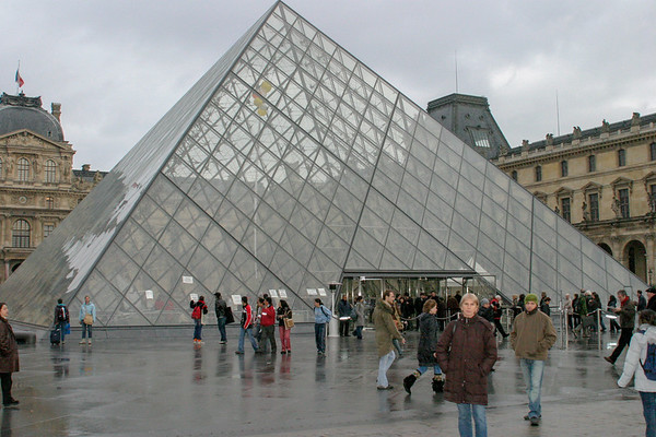 Louvre Museum Paris, France - December, 2005