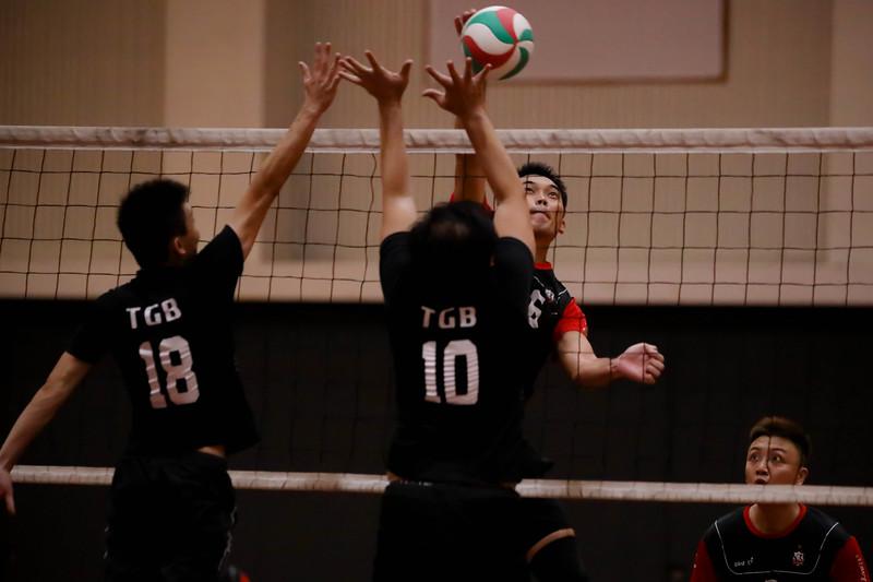 Men's Team ORD vs TGB VAS Series 2 National Championship 2019 24 Aug 2019 at SAS Gym 1 & 5 (Singapore American School). Photo By - Sanketa Anand/Sport Singapore