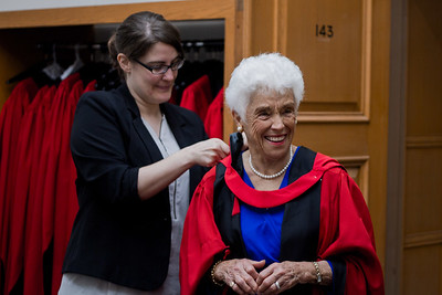 Marjorie's Honourary Degree
