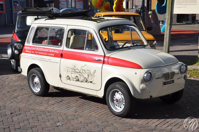 Auto bianchi 500 Giardiniera, bouwjaar 24-2-1971