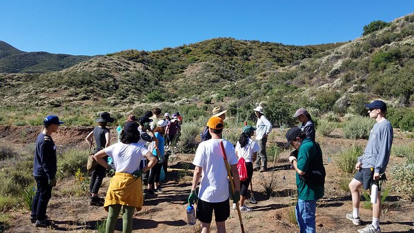 2019.6.29 - ASCE Tree Planting with Tree People US - Angeles National Forest