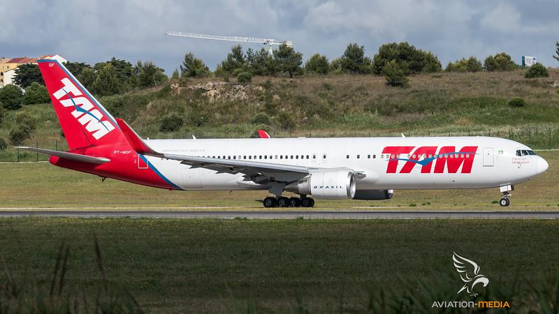 LATAM / Boeing 767-316ER(WL) / PT-MOF