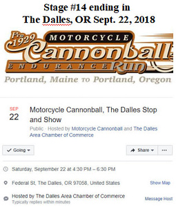 9-22-18 The Dalles, OR