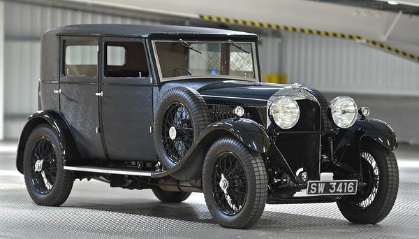 1929 4 1/2 Litre Bentley Weymann Saloon by H.J.Mulliner SW 3416