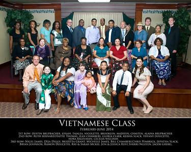 Feb_June 2014 Vietnamese Class