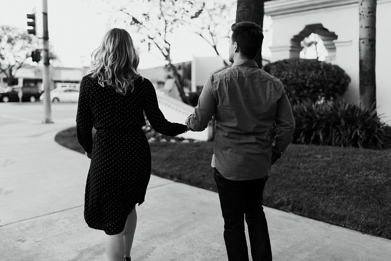 Engagement Shoot B&W