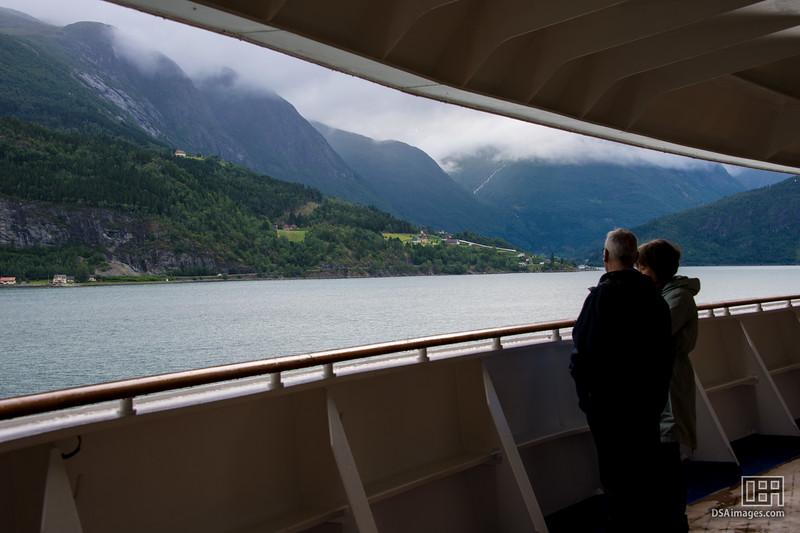 View from Innvikfjorden