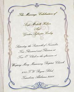 Corley Wedding