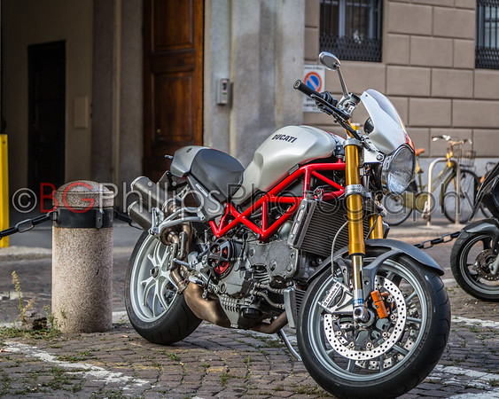 The Bikes (and cars) of Italy