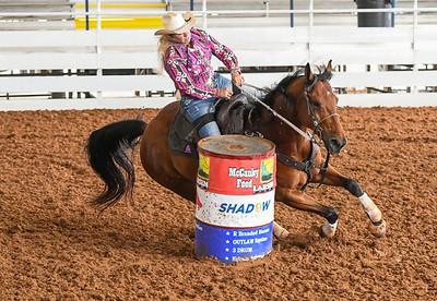 Barrel Racing @ SE Livestock Pavilion, Ocala Fl.