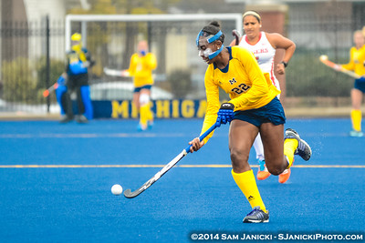 11-6-14 Michigan Field Hockey Vs Rutgers B10 Field Hockey Quarterfinal