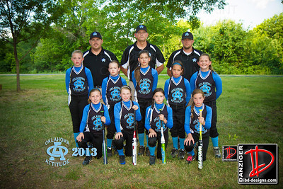 Oklahoma Attitude softball team 7-8-13