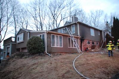 1/27/19 House Fire - 40 Woodland Ridge, Meriden, CT