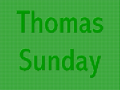 Thomas Sunday