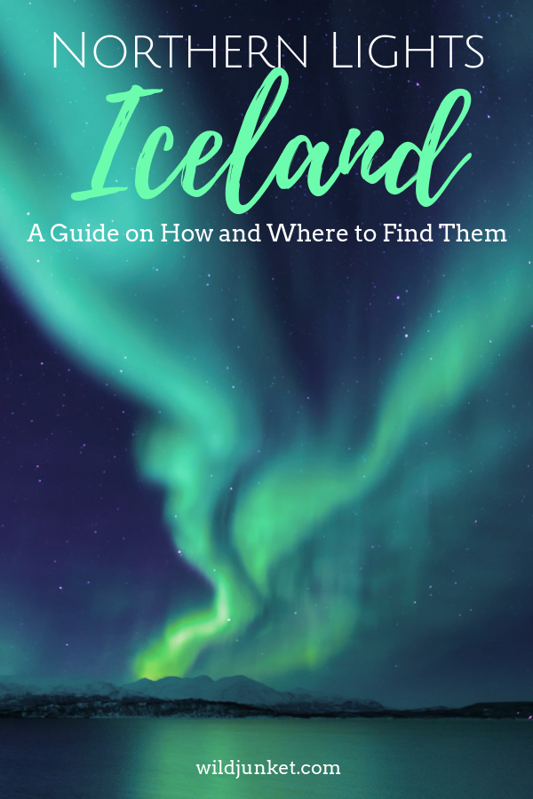 northern lights in iceland - guide
