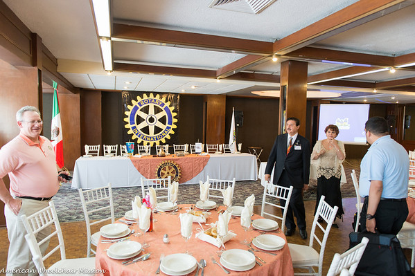 Saturday: Lunch With Local Rotarians