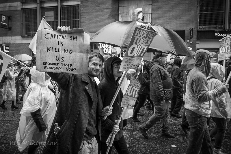 demostrator at theconservative conference, Manchester-10.jpg