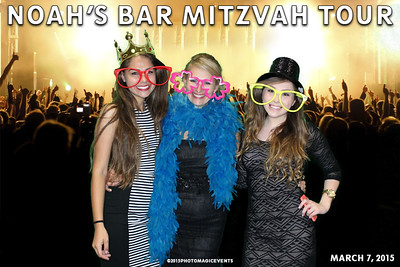 Noah's Bar Mitzvah Tour