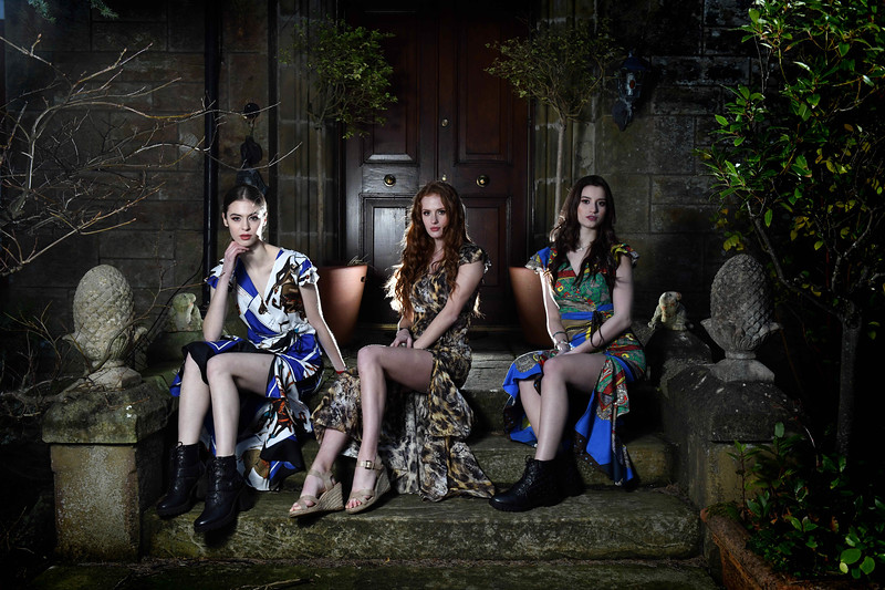Largs fashion photoshoot all rights reserved. copyright Photo by Paul Chappells 07774730898