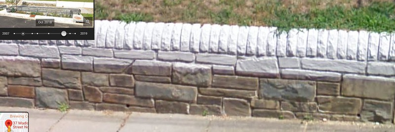 Retaining Wall Before and After PBR-1309 Installation