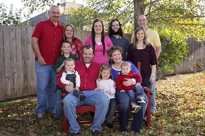 Christmas 2012 Family Photos
