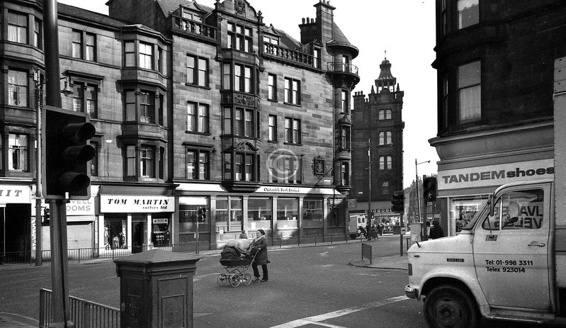 Springfield Rd at the Gallowgate.