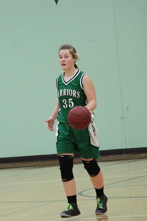 Warrior Girls Basketball v MCA