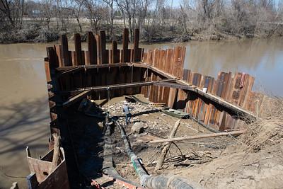 03-18-2019 Neodesha Water plant Coffer Dam