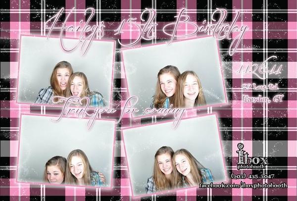 Hailey's Plaid 15th Birthday