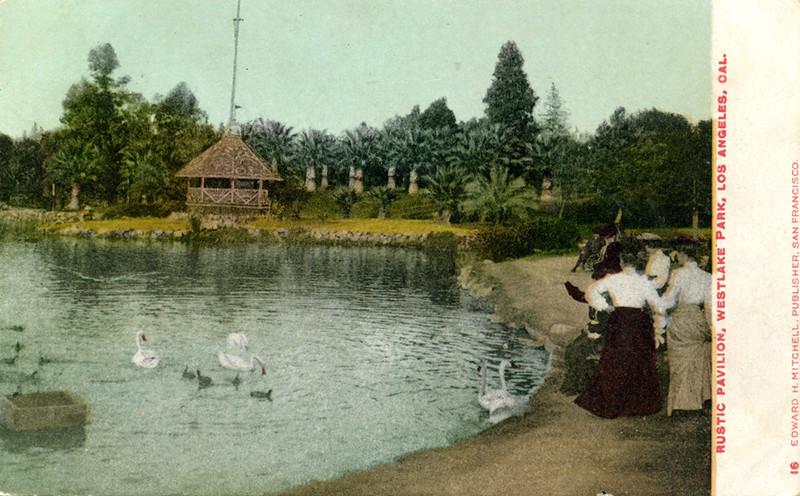 Rustic Pavilion in Westlake Park