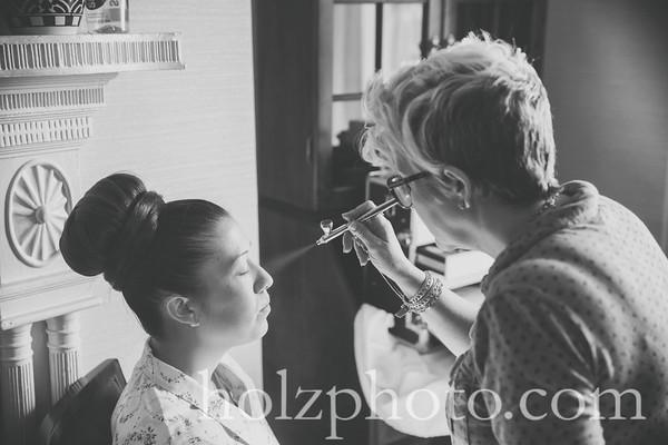 Danielle & Adam B/W Wedding Photos
