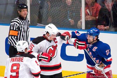 2008; NY Rangers vs. NJ Devils - 10/13