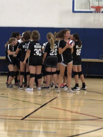 WVMS Volleyball vs LACS 2018