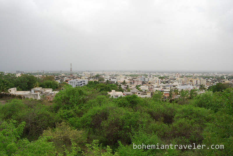 view over Junagadh from Uparkot Fort.jpg