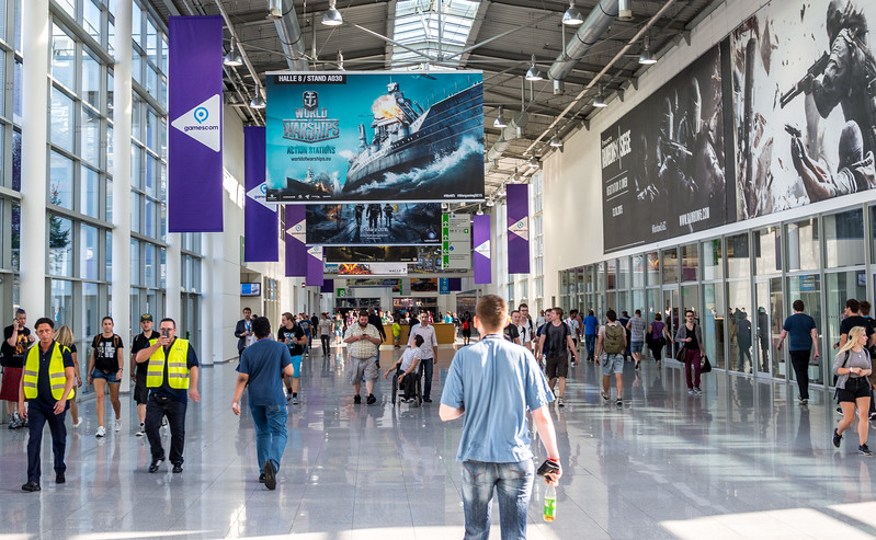 Before the crowds at Gamescom 2015